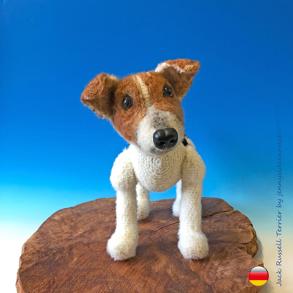 Crochet Amigurumi Jack Russell Terrier Dog – Helenmay Crochet You ... | 1000x1000