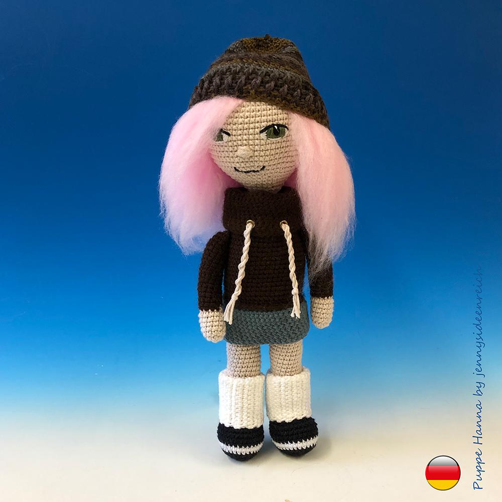BELLA häkeln Puppe - Amigurumi Puppe - gefüllte Puppe ...   1000x1000