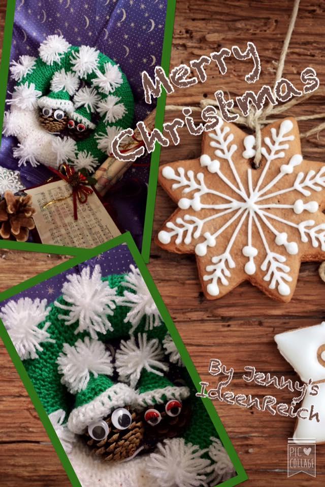 Weihnachtskranz Mit Schneemann